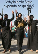 Why Islamic State expands so quickly
